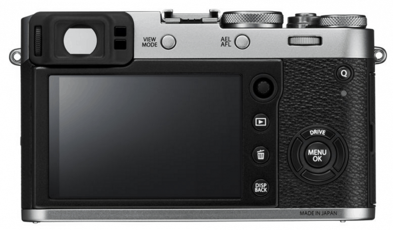 X100F digicam. Fujinon lens, X100F features