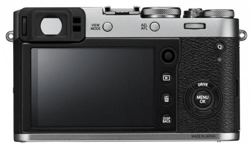 X100F digicam. Fujinon lens, X100F features