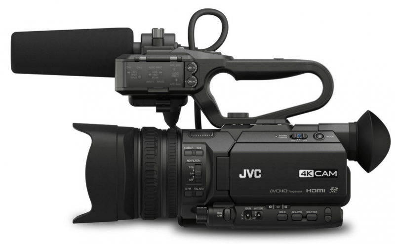 GY-HM200SP review, sports production camera, JVC camcorders