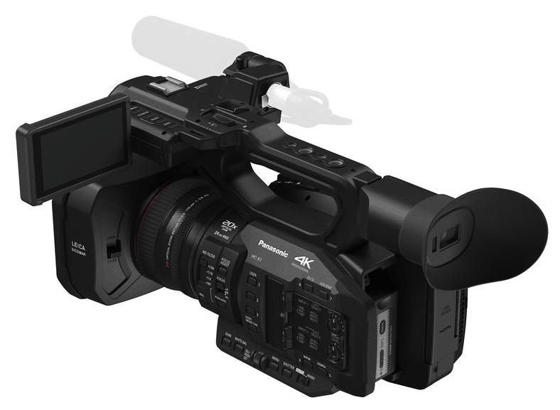 HC-X1 camcorder, Panasonic camcorders, LEICA DICOMAR lens