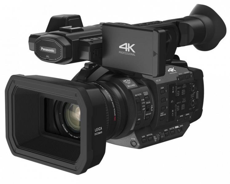 Panasonic HC-X1, 4K camcorders, professional camcorders