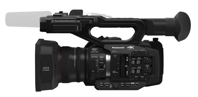 HC-X1 review, 4K cameras, 4K DCI camcorders