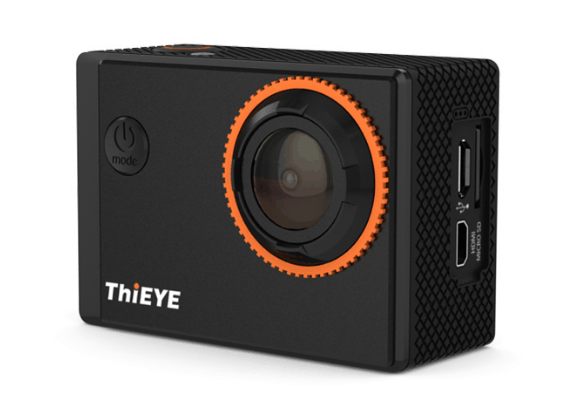 ThiEYE action camera, 4K action camera, 4K camera, 4K UHD