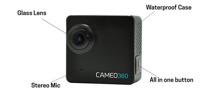 Get Ready for the World's Smallest Dual Lens 360° 4K Action Camera