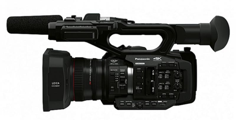 AG-UX180 review, AG-UX180 features, Panasonic 4K camcorders
