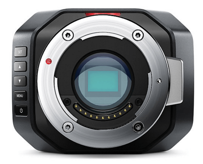 Blackmagic Micro Studio Camera, 4K camera, blackmagic camera