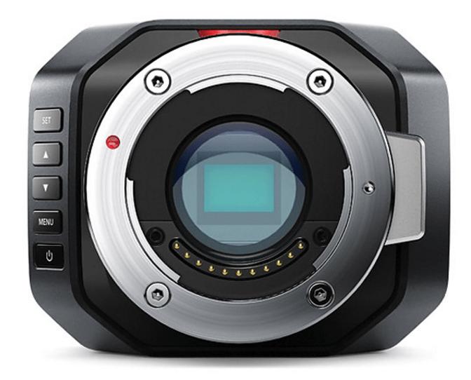 Blackmagic Micro Studio Camera, 4K camera, blackmagic camera