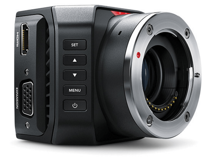 Blackmagic Micro Studio Camera, 4K cinema camera, 4K cameras