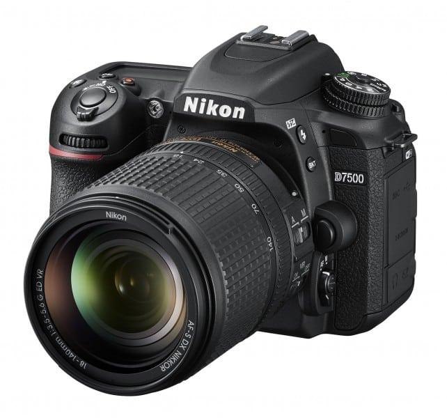 D7500, 4K DSLR, Nikon cameras