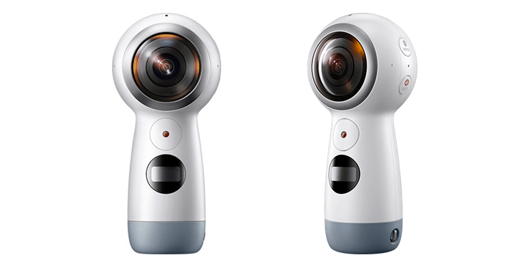 Samsung Gear 360, 4K video, 360 view