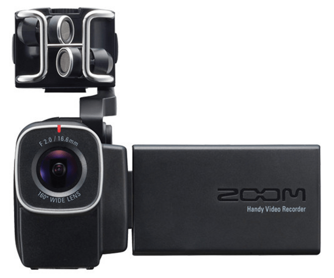 Zoom Q8, handycam, video recorder