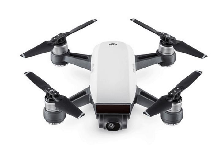 DJI Spark, Spark drone, camera drone, palm-sized drone,