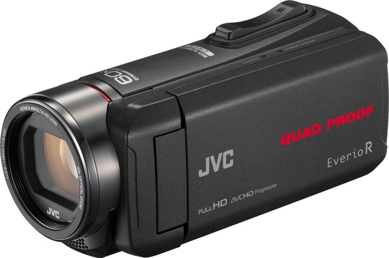 JVC camcorders, GZ-R550, Everio R line