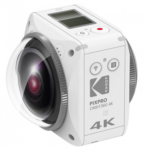 KODAK PIXPRO Orbit360 4K, 4K action camera, VR camera, virtual reality,