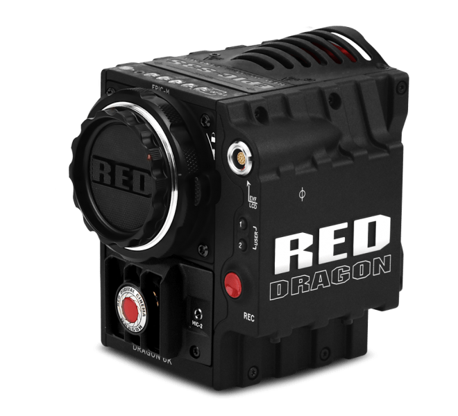 RED EPIC DRAGON, 6K camera, 4K camera, 4K recording, NASA and RED camera