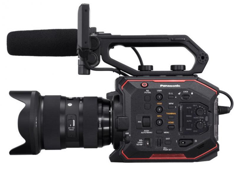AU-EVA1, Panasonic cinema camera, 4K video