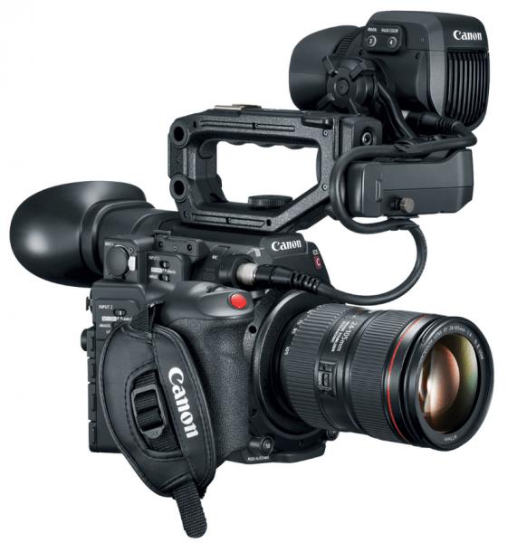 Canon EOS C200, Canon EOS C200B, Digital Cinema Cameras, DIGIC DV6 image processor, 4K cameras,