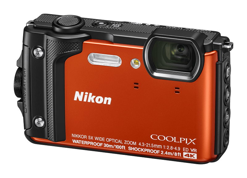 Nikon COOLPIX W300, travel camera, 4K cameras