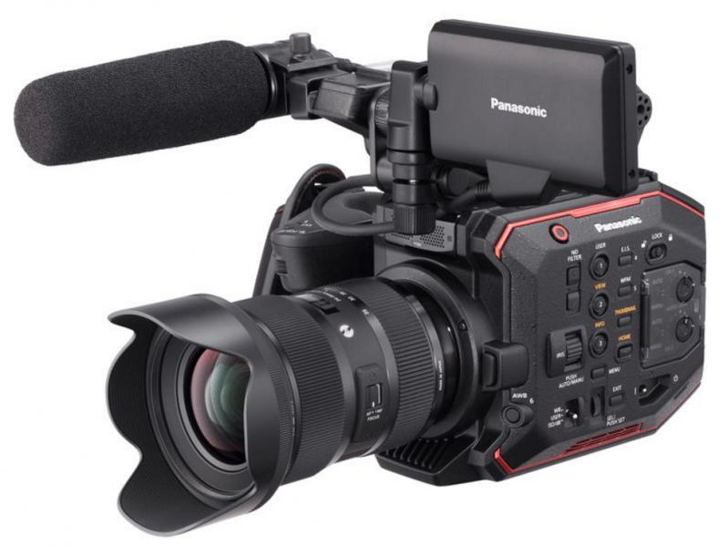 Panasonic AU-EVA1, cinema camera, 5.7K camera
