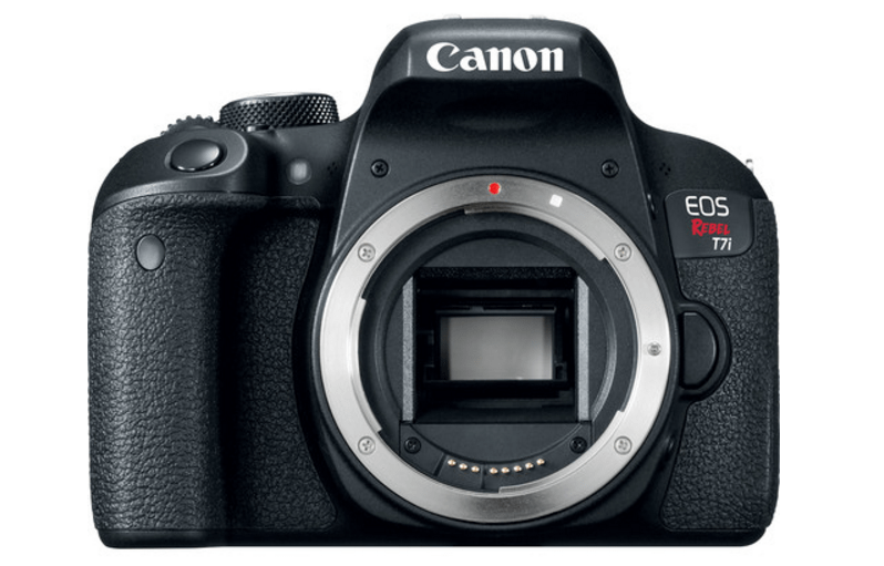 Rebel T7i, Canon EOS 800D, Canon DSLR