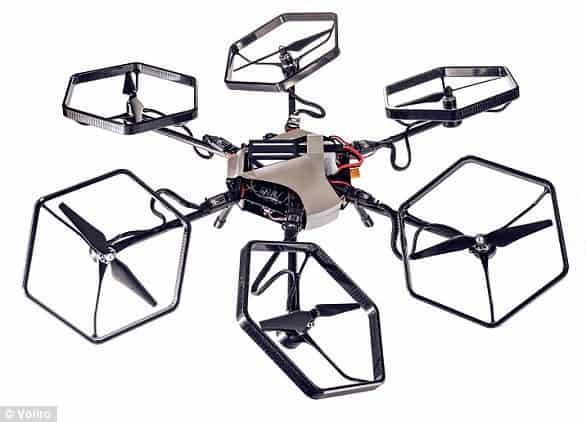 Voliro, hexacopter, drone, multicopters, omnidirectional drone
