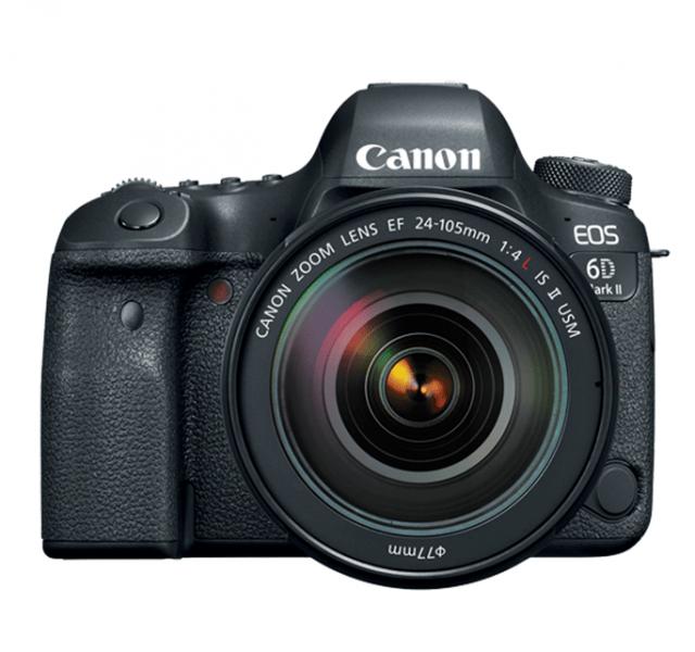 Canon EOS 6D Mark II, full-frame CMOS sensor, v, Full-HD video