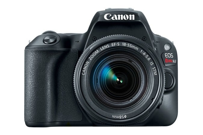 Canon EOS Rebel SL2, entry-level DSLR, Canon cameras