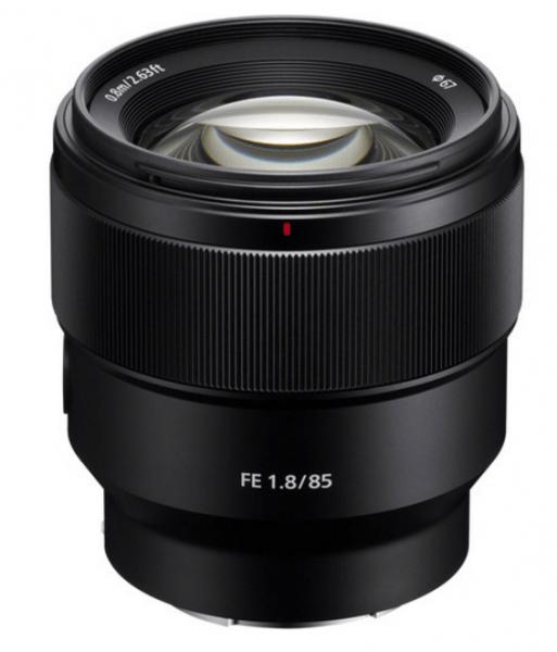 Sony FE 85mm f/1.8 Lens, Sony lens, camera lens,