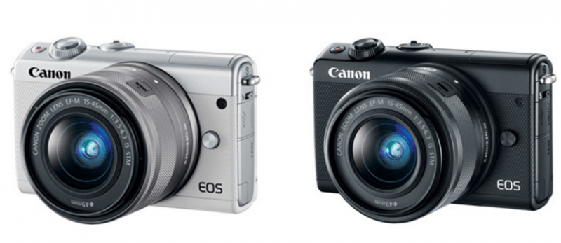 M100, Canon interchangeable lens cameras,