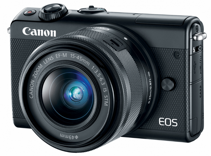 Canon EOS M100 Camera, Interchangeable-Lens Camera, Canon cameras