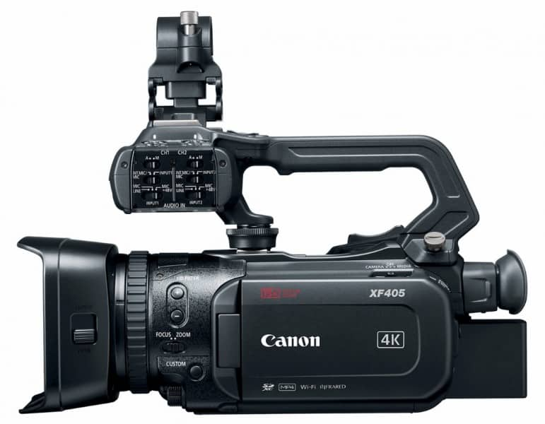Canon XF405, Canon camcorders, video recorders