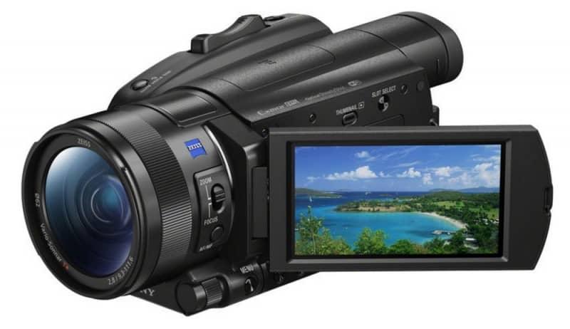 FDR-AX700, Sony handycam, camcorder