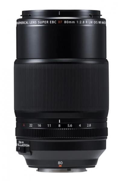 Fujifilm XF 80mm f/2.8 R LM OIS WR Macro Lens, camera lens, telephoto prime lens