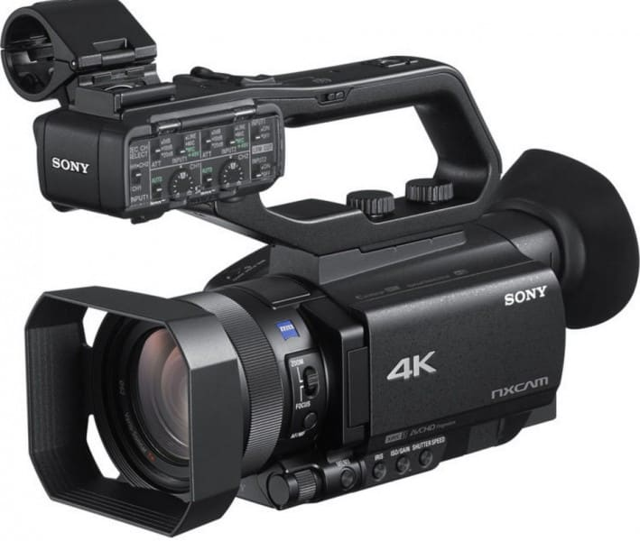 Sony HXR-NX80, Sony 4K handycam, 4K camcorder