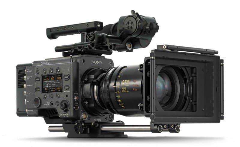 Sony VENICE, Full-Frame digital motion picture camera system, Sony CineAlta camera systems