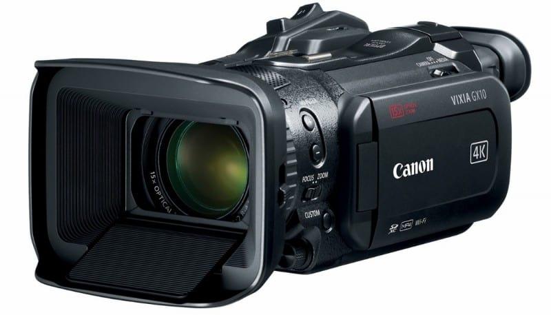 VIXIA GX10, 4K UHD camcorder, 4K camera