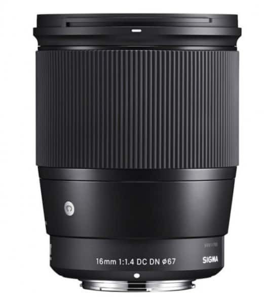 16mm F1.4 DC DN | C, mirrorless camera lens, APS-C-format Sony E-mount lens