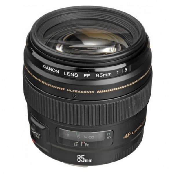 Canon lens, EF Mount lens, Canon EF 85mm f/1.8 USM Lens, camera lens