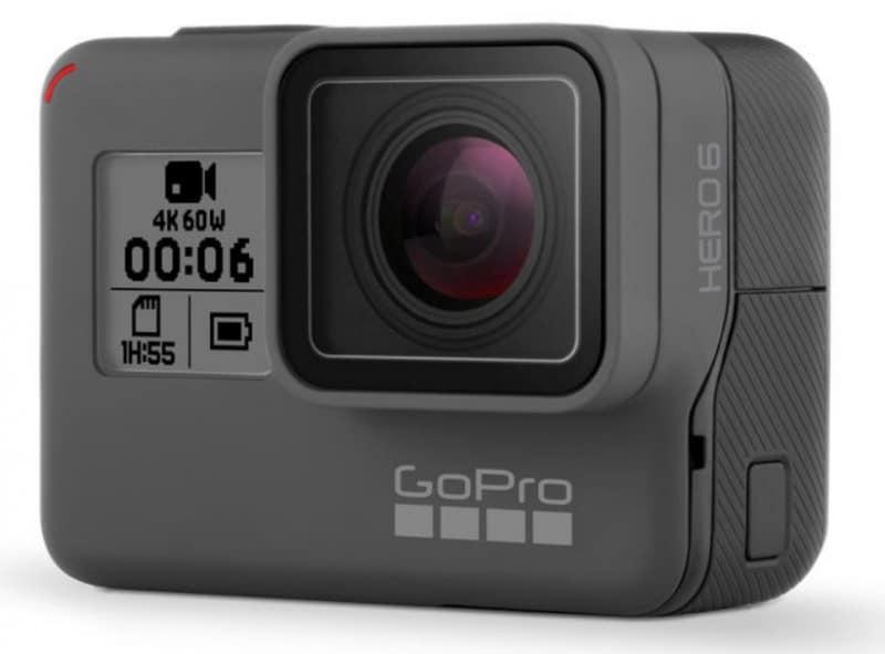 GoPro HERO6 Black, 4K action camera, GoPro