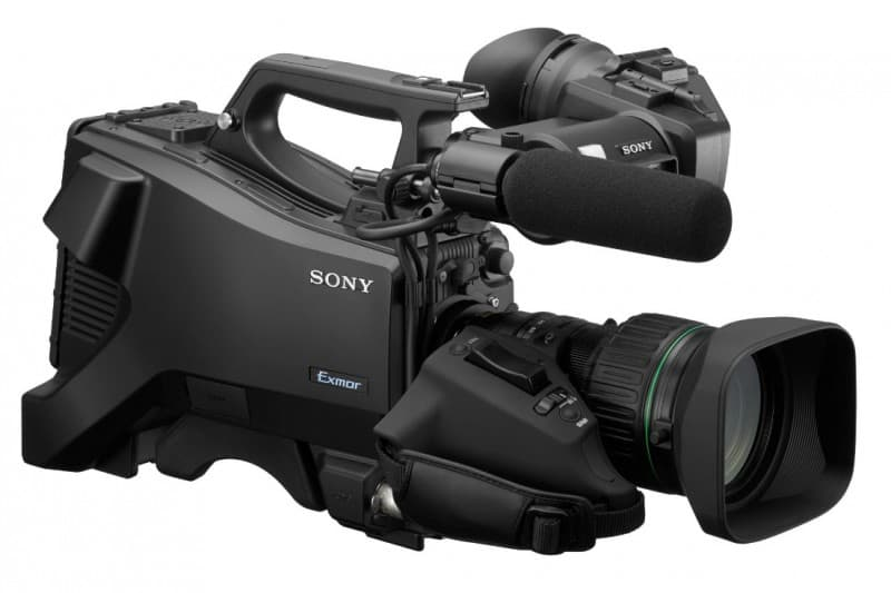 Sony HXC-FB80, Sony HXC series, 4K ready camera, HDR