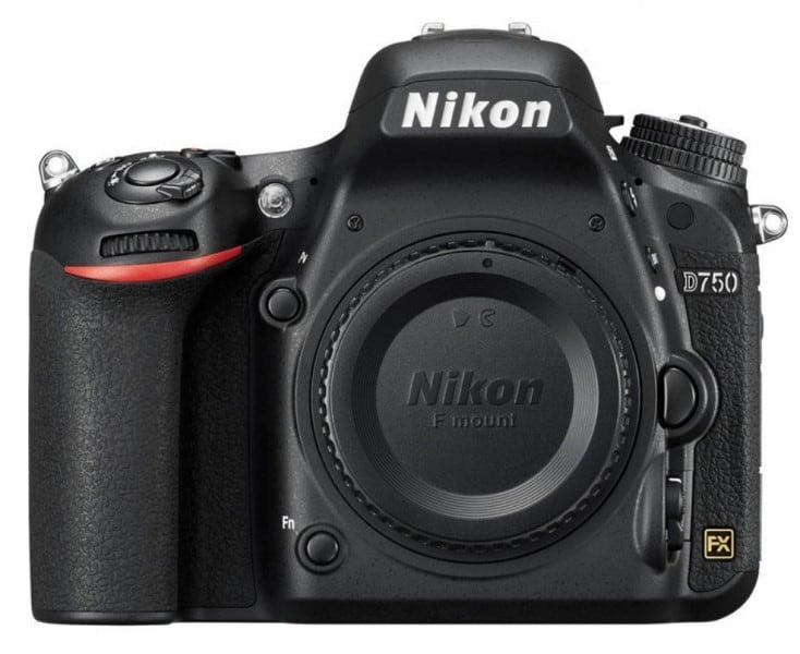 Nikon D750, full-frame DSLR, FHD video