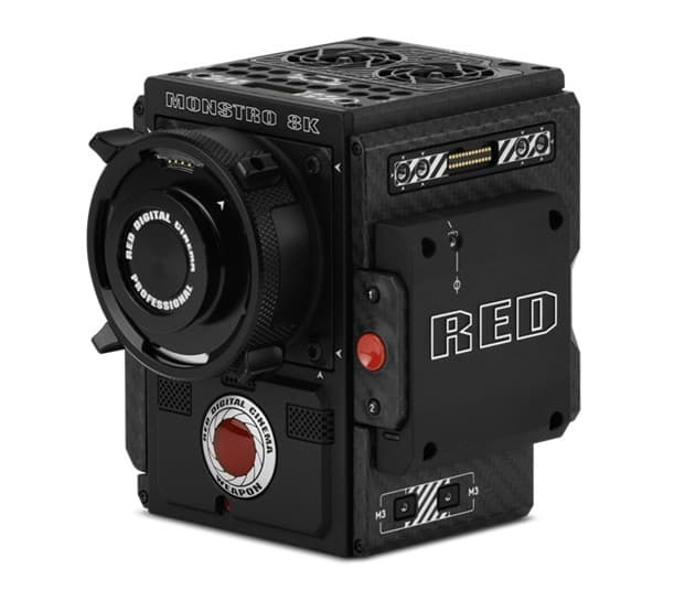 MONSTRO 8K VV sensor, RED Monstro 8K VV, WEAPON Brain