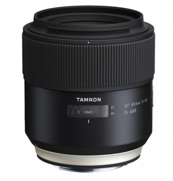 Tamron 85mm f/1.8 Di VC USD, Tamron lens, photo lens