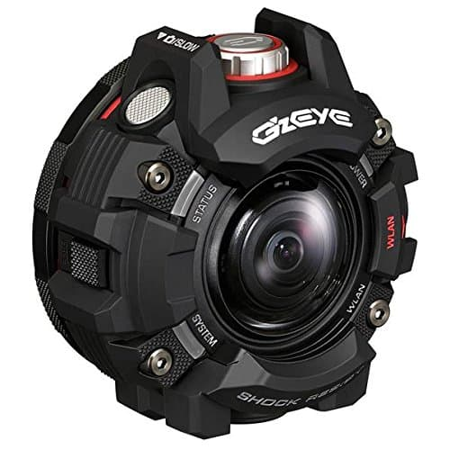 Casio's G'z Eye GZE-1 rugged action camera borrows concepts from their G-Shock watches