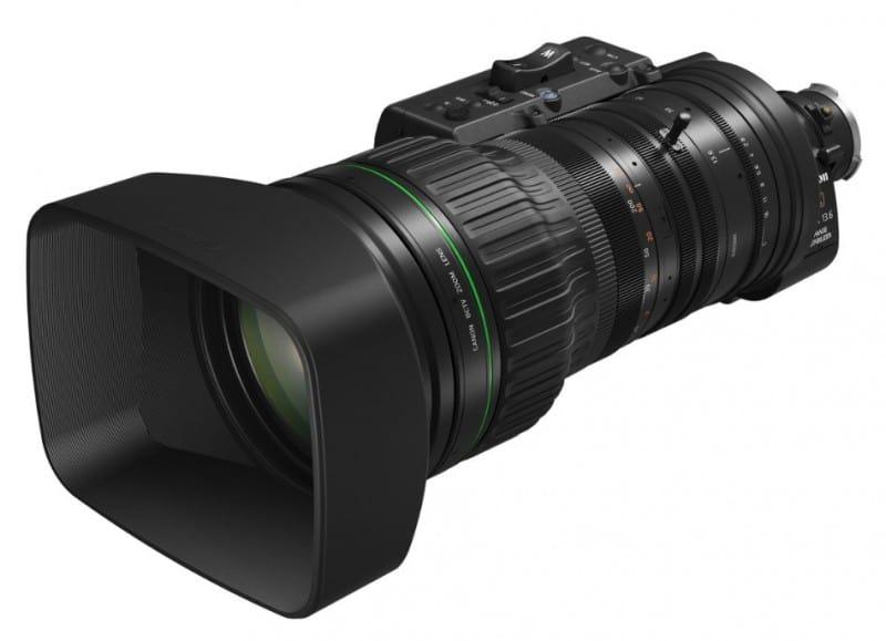 Canon CJ45ex13.6B, telephoto zoom lenses, 4K UHD broadcast lens