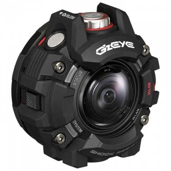 Casio G'z EYE GZE-1, Casio action camera, GZE-1