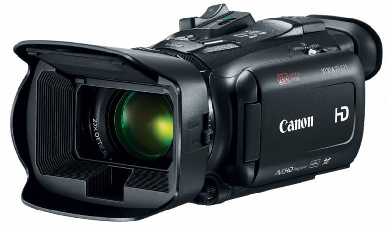 Canon Vixia HF G21 , DIGIC DV4 image processor, Optical Zoom Lens