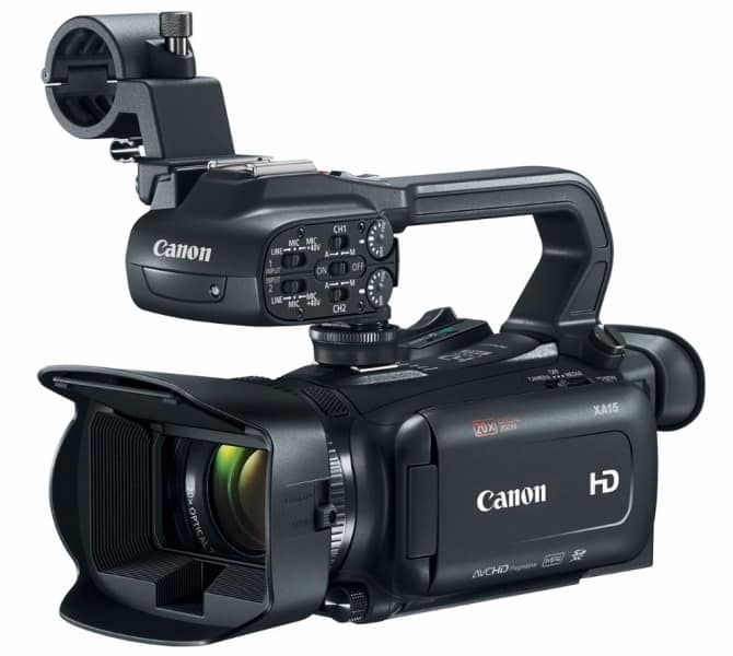 Canon XA15, Full HD camcorders, videography