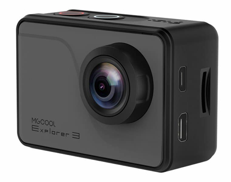 MGCOOL Explorer 3, action camera, 4K camera