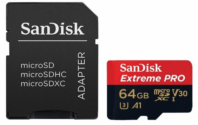 Sandisk Extreme Pro, 4K Memory Card, storage card